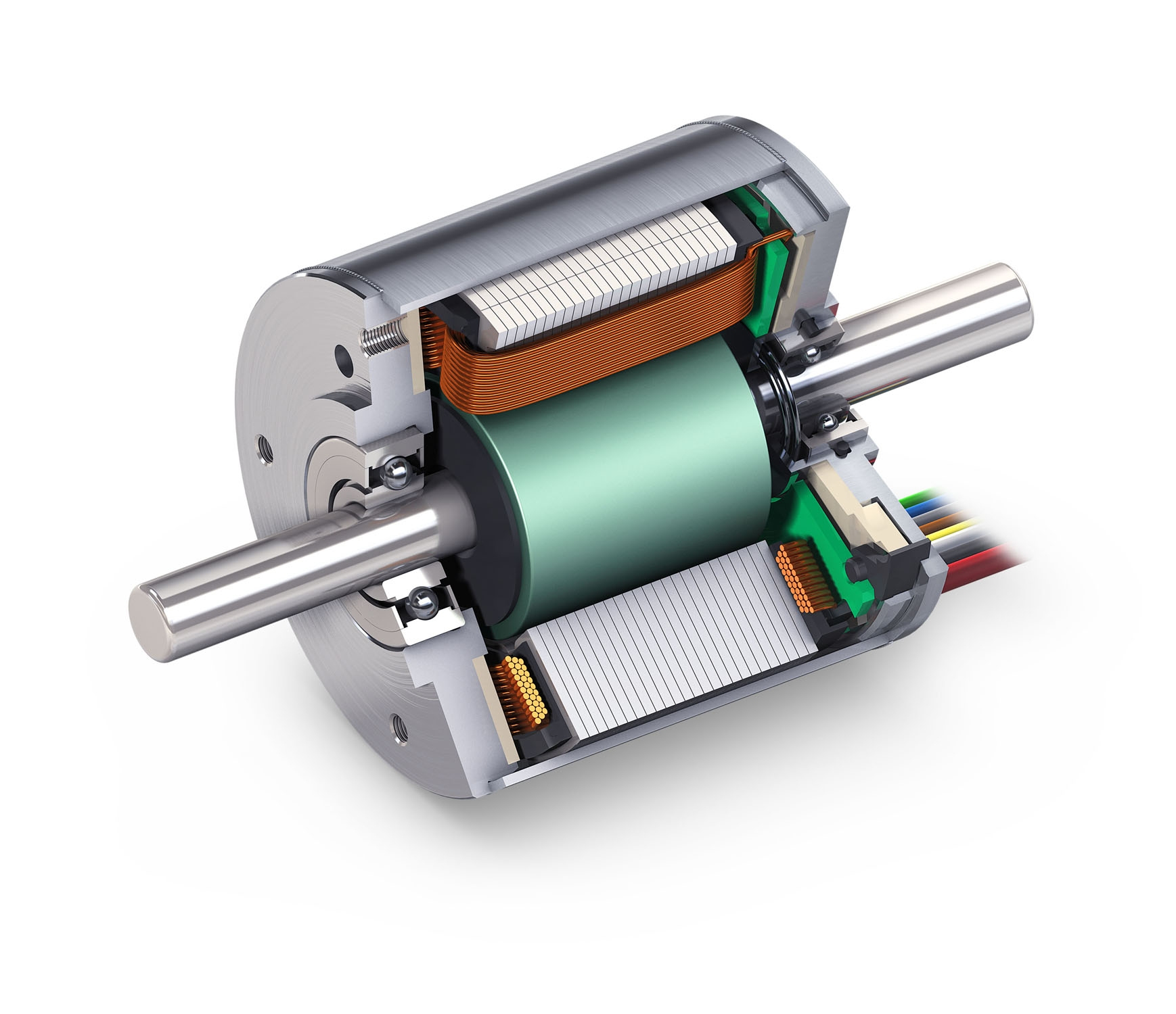 Dc msd motion system design for Very small electric motors