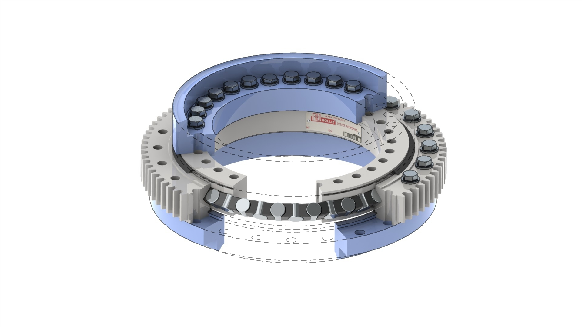 Crane Slew Ring Slewing Bearing Wikipedia Slewing Ring